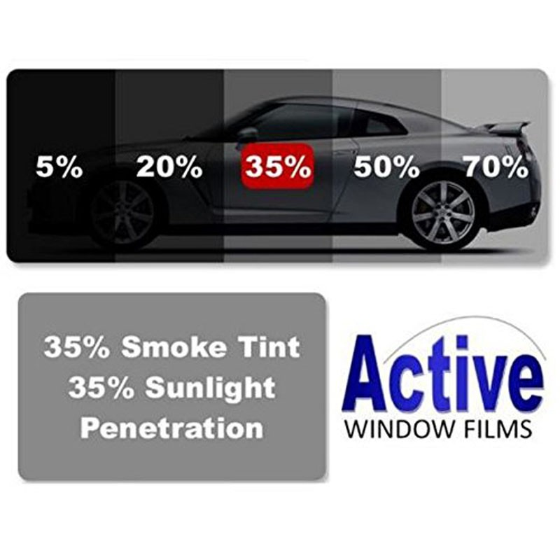 35 light black car window auto tint film for tinting cars for Window tint film