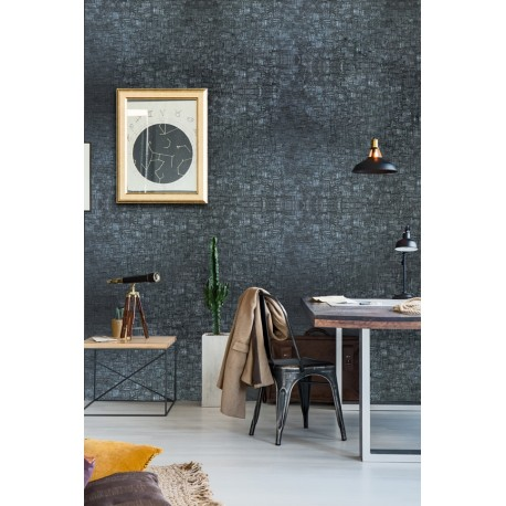 Cover Styl' - U22 Carved Charcoal Self Adhesive Sticker, Vinyl Window Wall Door Furniture Covering