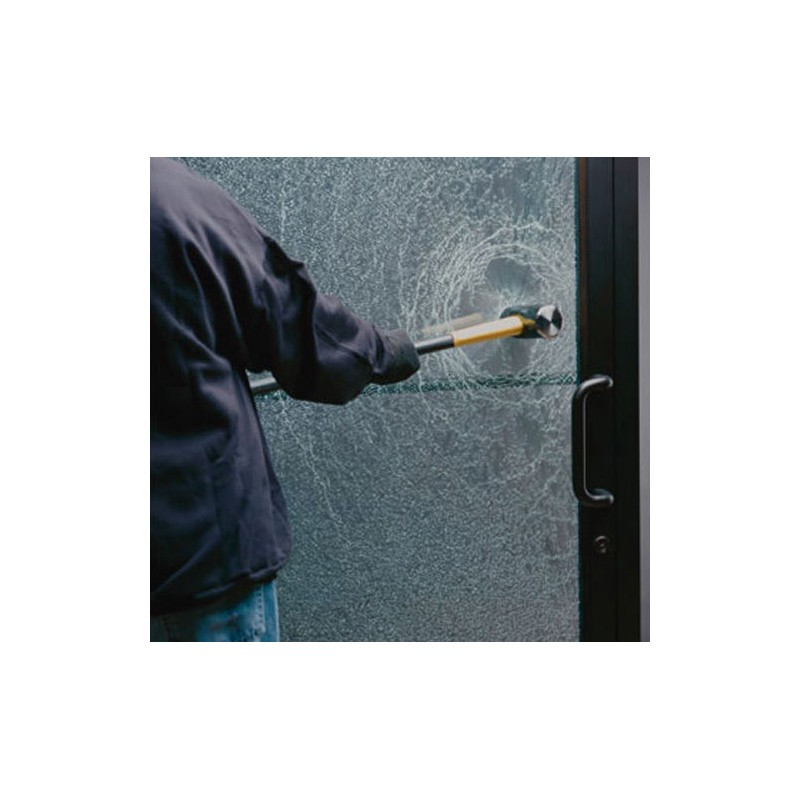 Safety Amp Security Window Film Clear Glass Protection Anti