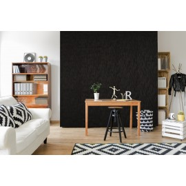 Cover Styl - X9 Mat Black Streaks Self Adhesive Sticker, Vinyl Window Wall Door Furniture Covering