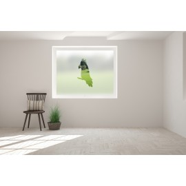 Cockatoo Cut Out Bespoke Custom Frosted Window Film