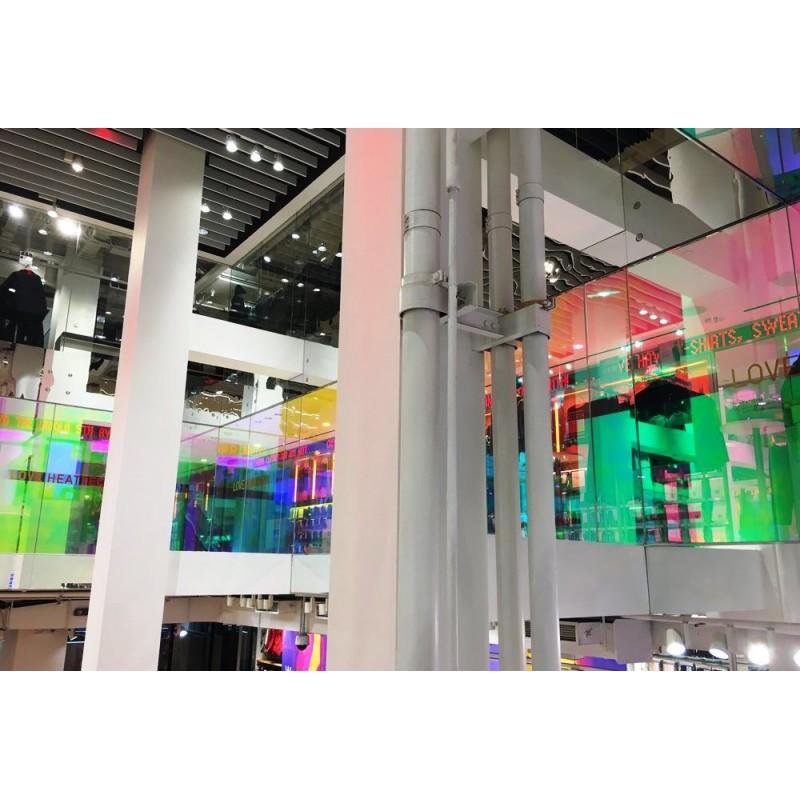Dichroic Colour Changing Self Adhesive Rainbow Colourful