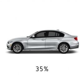 35% Budget Dark Car Window Tint Limo Black Smoke Automotive Vehicle Tint Roll