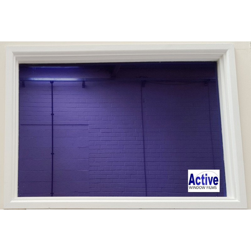 Mirror Purple Privacy One Way Pro Window Tinting Sticky