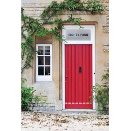 Personalised House Door Number Text Cut Out Bespoke Custom Frosted Numbers Window Film 14