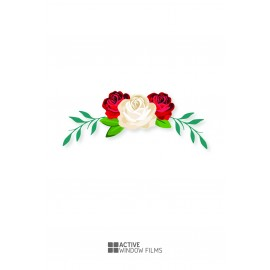 Bespoke High Quality, Flowers Florist, Vinyl Decal, Business, Wall Sticker 02