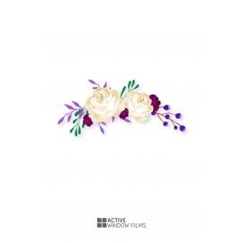 Bespoke High Quality, Flowers Florist, Vinyl Decal, Business, Wall Sticker 03
