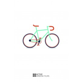 Bespoke High Quality, Bicycle, Vinyl Decal, Business, Wall Sticker