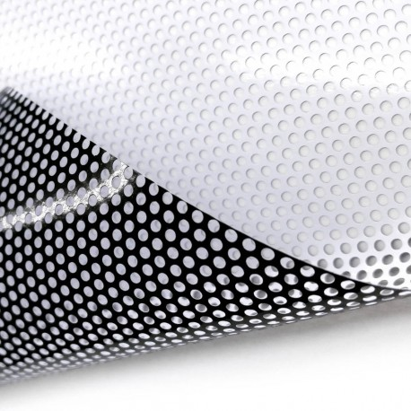 One Way Vision Printable A Self Adhesive Perforated Vinyl