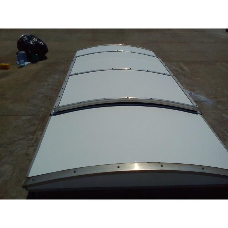 Artic Cool Heat Reduction Polcarbonate Glareless White