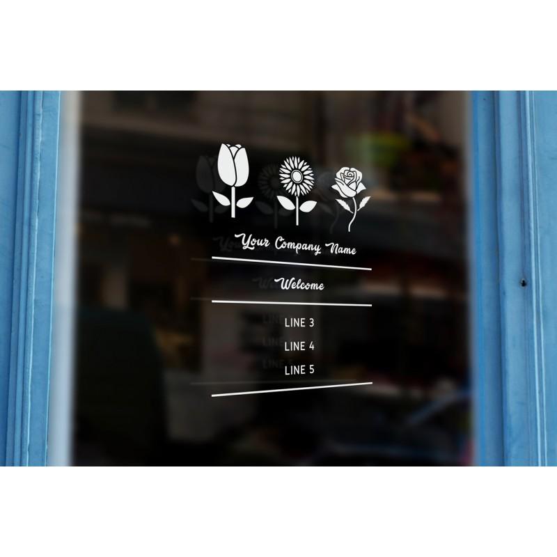 Vinyl Lettering For Windows Uk Business Custom Window Door