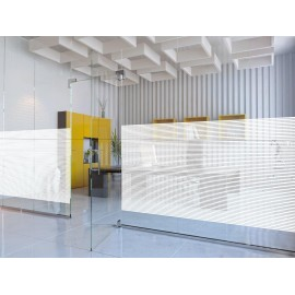 10mm Frosted horizontal Line, Decorative Patterned Window Film 50cm, 76cm, 100cm, 152cm