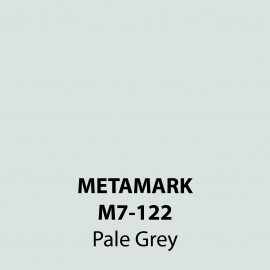 Pale Grey Gloss Vinyl M7-122, Metamark 7 Series, self-adhesive, sticky back polymeric sign making vinyl