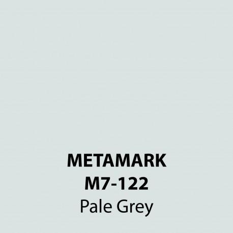 Pale Grey Gloss Vinyl M7-122, Metamark 7 Series, self-adhesive, sticky back polymeric sign making vinyl