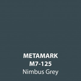 Nimbus Grey Gloss Vinyl M7-125, Metamark 7 Series, self-adhesive, sticky back polymeric sign making vinyl