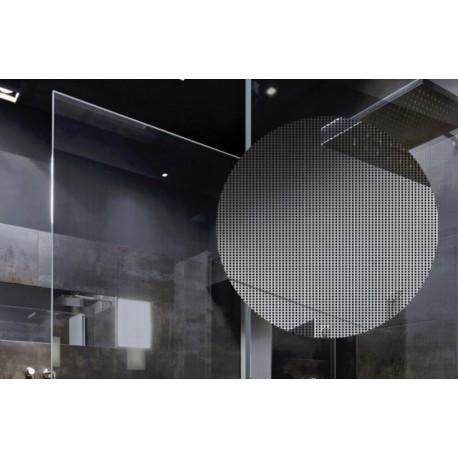 Black Dots, Decorative Patterned Window Film