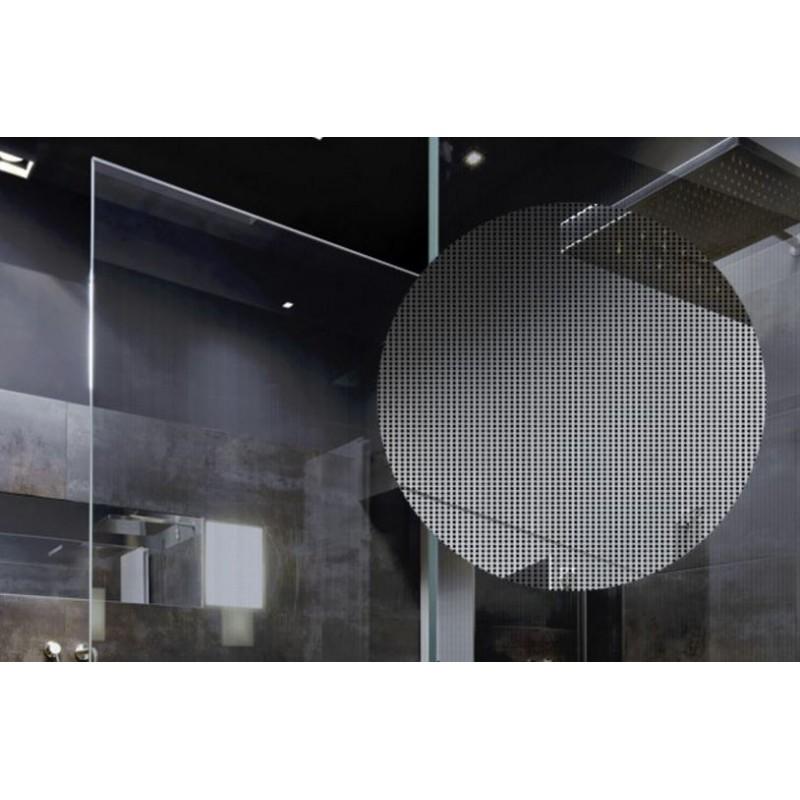 Black dots decorative patterned window film 50cm 76cm for 100 cm window box