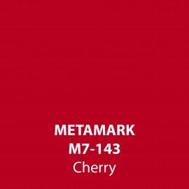 Cherry Gloss Vinyl M7-143, Metamark 7 Series, self-adhesive, sticky back polymeric sign making vinyl