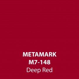Deep Red Gloss Vinyl M7-148, Metamark 7 Series, self-adhesive, sticky back polymeric sign making vinyl
