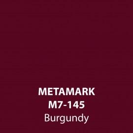 Burgundy Gloss Vinyl M7-145, Metamark 7 Series, self-adhesive, sticky back polymeric sign making vinyl