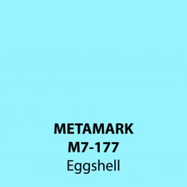 Eggshell Gloss Vinyl M7-177, Metamark 7 Series, self-adhesive, sticky back polymeric sign making vinyl