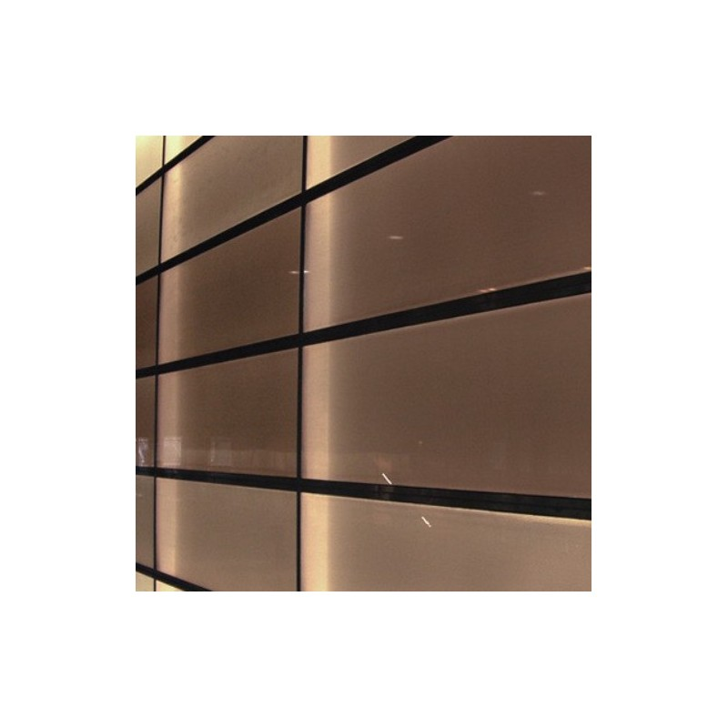 Bronze Frosted Privacy Window Film Frost Etched Glass