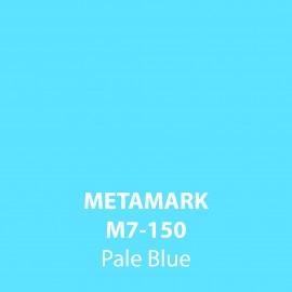 Pale Blue Gloss Vinyl M7-150, Metamark 7 Series, self-adhesive, sticky back polymeric sign making vinyl
