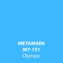 Olympic Gloss Vinyl M7-151, Metamark 7 Series, self-adhesive, sticky back polymeric sign making vinyl