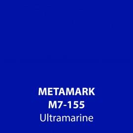 Ultramarine Gloss Vinyl M7-155, Metamark 7 Series, self-adhesive, sticky back polymeric sign making vinyl