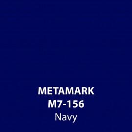 Navy Gloss Vinyl M7-156, Metamark 7 Series, self-adhesive, sticky back polymeric sign making vinyl