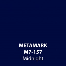 Midnight Gloss Vinyl M7-157, Metamark 7 Series, self-adhesive, sticky back polymeric sign making vinyl