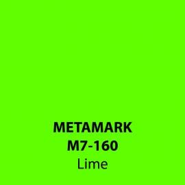 Lime Gloss Vinyl M7-160, Metamark 7 Series, self-adhesive, sticky back polymeric sign making vinyl