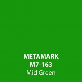 Mid Green Gloss Vinyl M7-163, Metamark 7 Series, self-adhesive, sticky back polymeric sign making vinyl