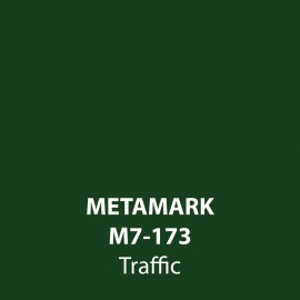 Traffic Gloss Vinyl M7-173, Metamark 7 Series, self-adhesive, sticky back polymeric sign making vinyl
