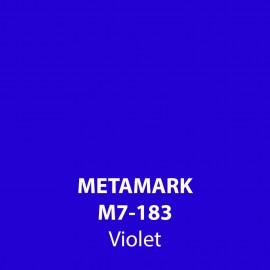 Violet Gloss Vinyl M7-183, Metamark 7 Series, self-adhesive, sticky back polymeric sign making vinyl