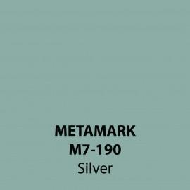 Silver Gloss Vinyl M7-190, Metamark 7 Series, self-adhesive, sticky back polymeric sign making vinyl