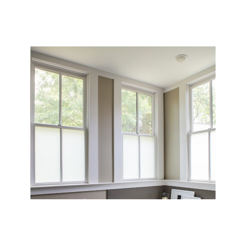 Bubble Free Privacy Frosted Window Glass Film Etched Glass