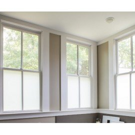 Bubble Free Frosted Privacy Window Film