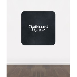 BB4 - Rounded corner square chalkboard sticker