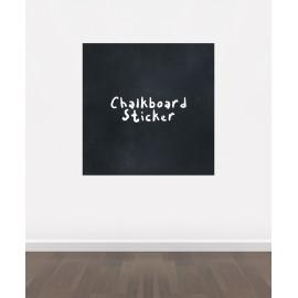 BB7 - Bespoke Sqaure chalkboard sticker, beautiful blackboard vinyl cut sticker, self adhesive easy install