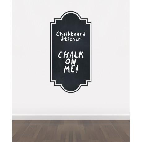 BLACKBOARD SELF ADHESIVE VINYL CHALKBOARD*
