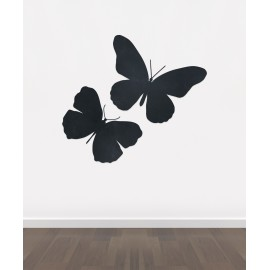BB9 - Bespoke Butterflies chalkboard sticker, beautiful blackboard vinyl cut sticker, self adhesive easy install