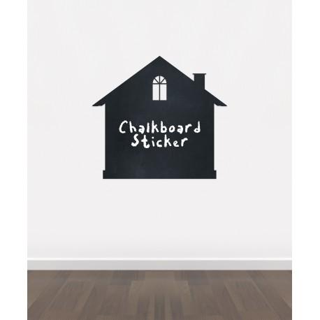 BB16 - Bespoke home chalkboard sticker, beautiful blackboard vinyl cut sticker, self adhesive easy install