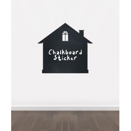 BB16 - Bespoke home chalkboard sticker, beautiful blackboard vinyl cut sticker, self adhesive easy install