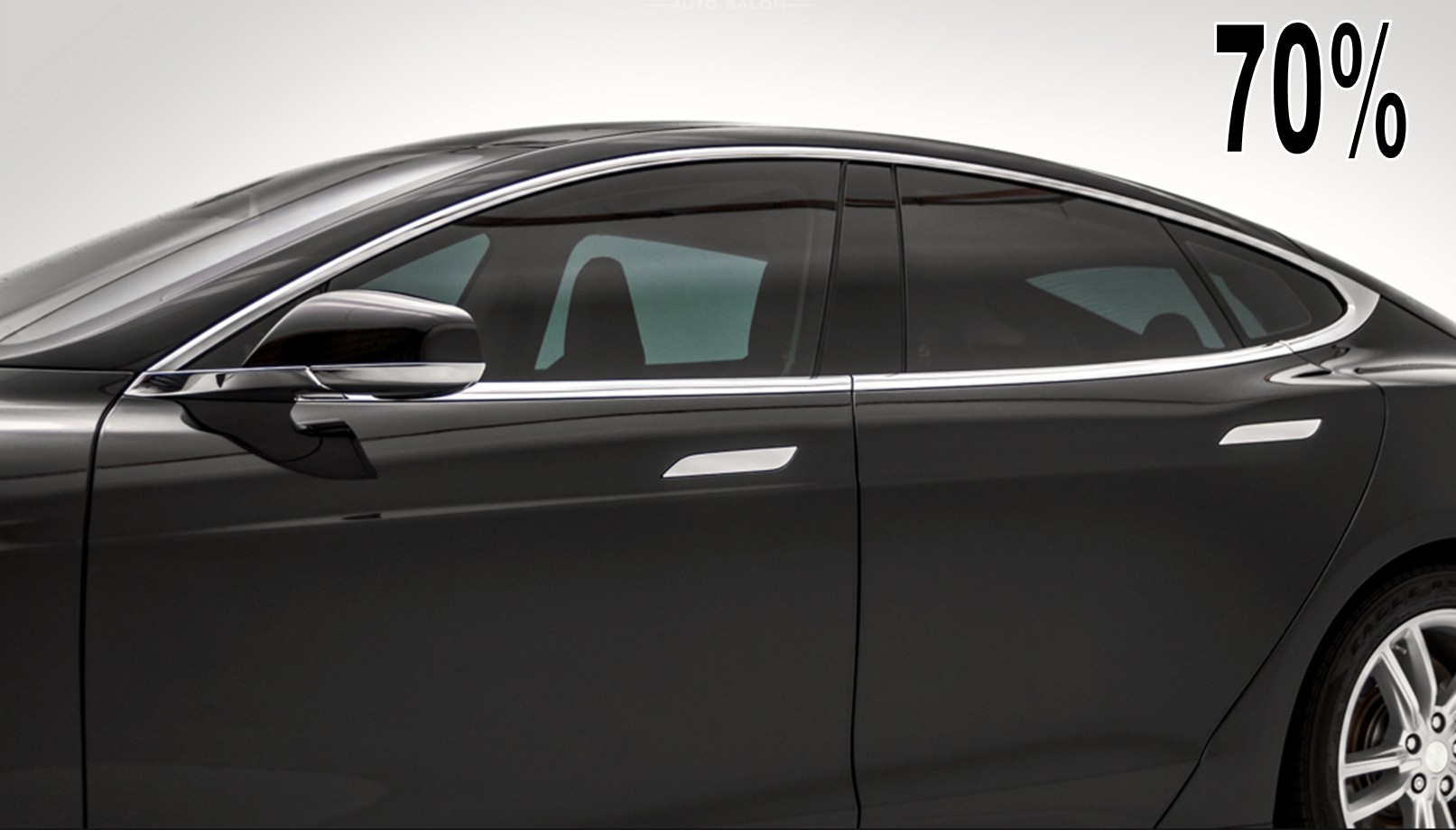 Premium 70 Limo Charcoal Dyed Polyester Car Window Tint Film
