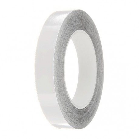 Pale Grey Gloss Colour Pin Stripe tapes, 50m roll, sticky self-adhesive, vinyl decal line tape