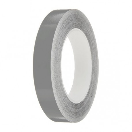 Medium Grey Gloss Colour Pin Stripe tapes, 50m roll, sticky self-adhesive, vinyl decal line tape