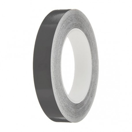 Dark Grey Gloss Colour Pin Stripe tapes, 50m roll, sticky self-adhesive, vinyl decal line tape