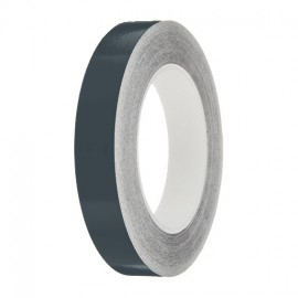 Nimbus Grey Gloss Colour Pin Stripe tapes, 50m roll, sticky self-adhesive, vinyl decal line tape