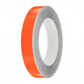 Marigold Gloss Colour Pin Stripe tapes, 50m roll, sticky self-adhesive, vinyl decal line tape